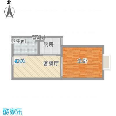 大唐龙庭户型图大唐智能花园三期 1室1厅1卫1厨