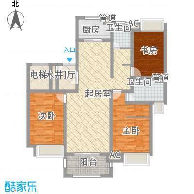 中联大厦 3室 户型图