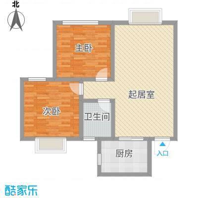 中联大厦 2室 户型图