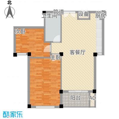 2室户型图