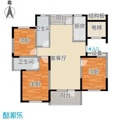 恒通帝景蓝湾133.00㎡恒通帝景蓝湾户型图E型3室2厅2卫1厨户型3室2厅2卫1厨