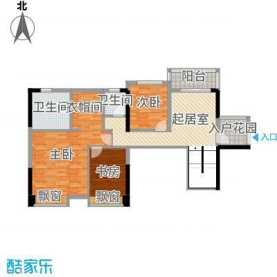 东方新城东方新城3室户型3室