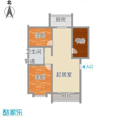 大唐花园135.00㎡大唐花园3室户型3室