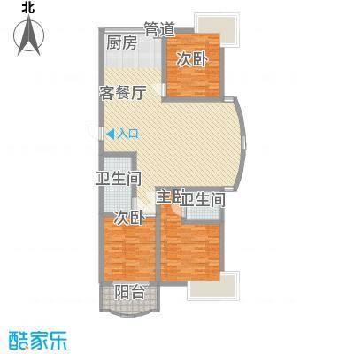 吉安万宇公寓201005141959596139户型3室1厅1卫1厨