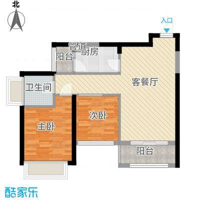 金众金域半山74.70㎡金众金域半山户型图6、7栋03户型户型10室