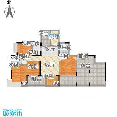 怡丰苑200.00㎡海杨城三期怡丰苑4室户型4室