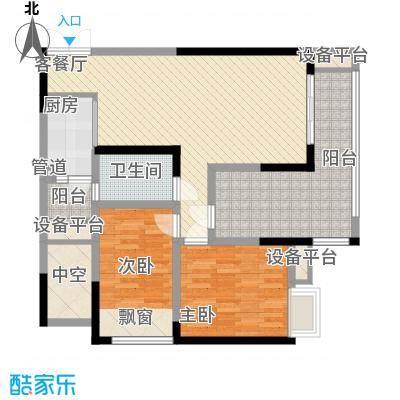 华宇绿洲华宇绿洲二期4室户型4室