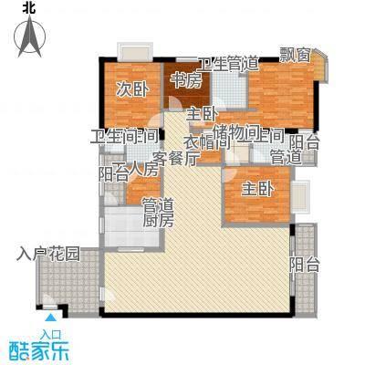 世纪新潮世纪新潮4室2厅2卫户型4室2厅2卫