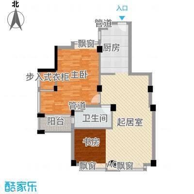 新园中区73.00㎡新园中区2室户型2室