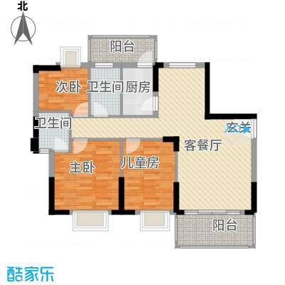 咸西新苑咸西新苑户型图户型图23室户型3室