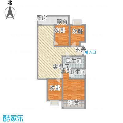 龙腾盛世106.00㎡龙腾盛世4室户型4室