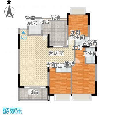 松山湖和堂165.00㎡松山湖和堂4室户型4室