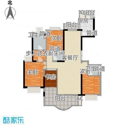 东城万达广场192.00㎡东城万达广场户型图B1户型4室2厅3卫1厨户型4室2厅3卫1厨