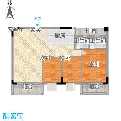 华宇大厦145.55㎡华宇大厦户型10室