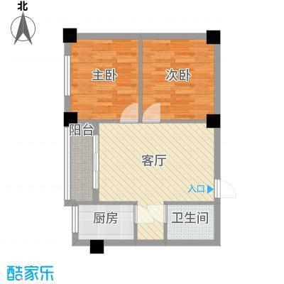 银桥小区600x600户型3室