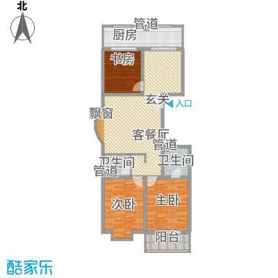 龙昌彩虹风景130.18㎡龙昌彩虹风景户型10室