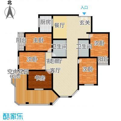 汾河景观360267.19㎡汾河景观360户型图5室2厅2卫户型10室
