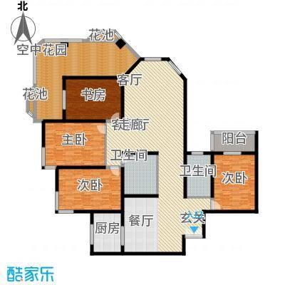 汾河景观360237.87㎡汾河景观360户型图4室2厅2卫户型10室