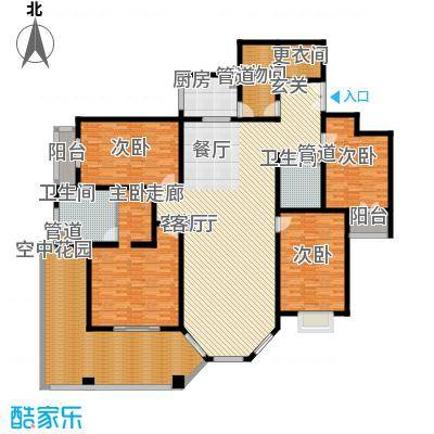 汾河景观360261.72㎡汾河景观360户型图4室2厅2卫户型10室