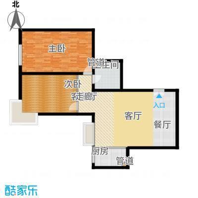 汾河景观360126.25㎡汾河景观360户型图2室2厅1卫户型10室