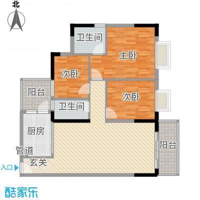 海伦堡户型图户型图1 3室2厅2卫1厨