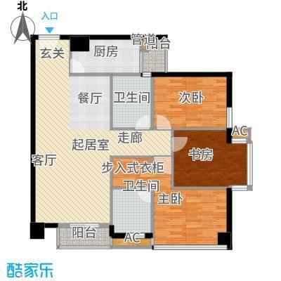 信诺新村112.00㎡信诺新村3室户型3室