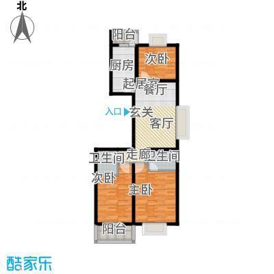 亲贤一品111.11㎡亲贤一品户型图E户型3室2厅2卫1厨户型3室2厅2卫1厨