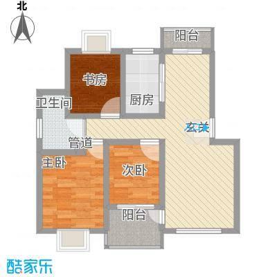 阳光地带78.00㎡阳光地带户型图户型图3室2厅1卫1厨户型3室2厅1卫1厨