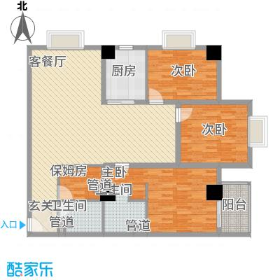 东岸未来城152.13㎡东岸未来城户型图4室2厅2卫1厨户型10室