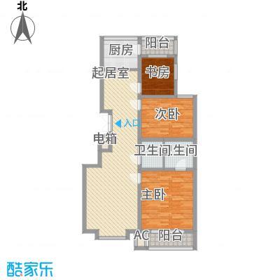 龙湾国际128.00㎡龙湾国际3室户型3室