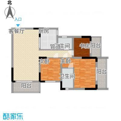 睿力上城133.76㎡睿力上城户型图A5号楼E户型3室2厅2卫1厨户型3室2厅2卫1厨
