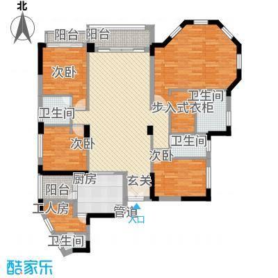 聚富花园139.00㎡聚富花园4室户型4室