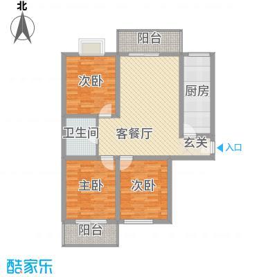 金色丽城118.00㎡太原金色丽城户型10室