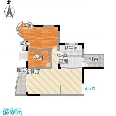 广贸大厦98.00㎡广贸大厦3室户型3室