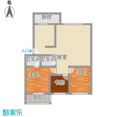 大唐花园115.00㎡太原大唐花园户型10室