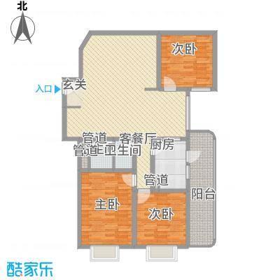 滨河小区143.31㎡滨河小区户型图3室2厅户型10室
