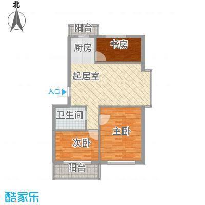 朗悦华园92.11㎡朗悦华园3室户型3室