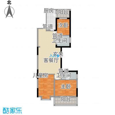 乡镇煤运公司宿舍2号楼155.00㎡乡镇煤运公司宿舍2号楼4室户型4室
