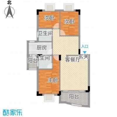 东田丽园108.00㎡东田丽园户型10室
