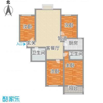 美丽新世界182.86㎡美丽新世界户型图4室2厅2卫户型10室