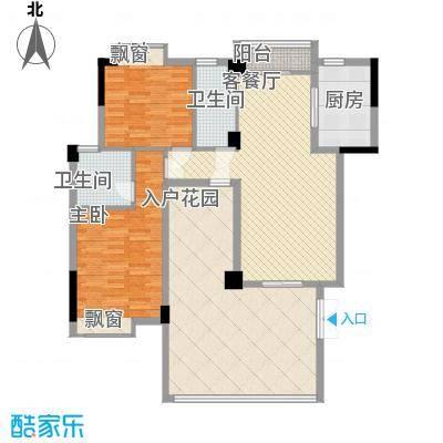 东方水岸123.00㎡东方水岸户型图05座01单元3室2厅2卫1厨户型3室2厅2卫1厨