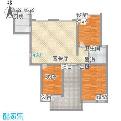 新安大厦140.00㎡新安大厦3室户型3室