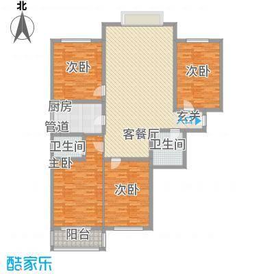 美丽新世界189.63㎡美丽新世界户型图4室2厅2卫户型10室
