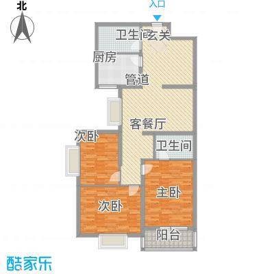 美丽新世界155.77㎡美丽新世界户型图3室2厅2卫户型10室