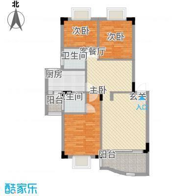 东田丽园二期108.00㎡东田丽园二期3室户型3室