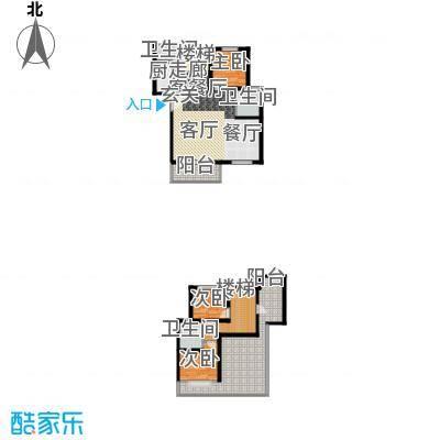 碧海红湖135.00㎡碧海红湖户型图3室2厅3卫1厨户型10室