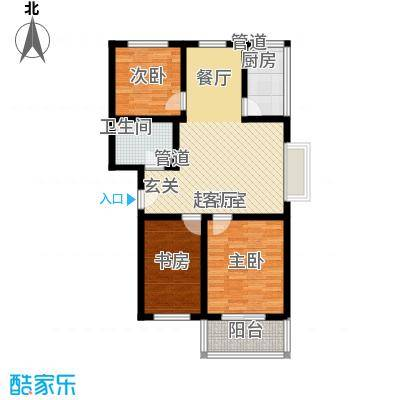 乐活城三期乐活城三期户型图C户型3室2厅1卫1厨户型3室2厅1卫1厨