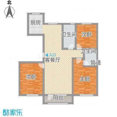 外滩九号127.00㎡外滩九号户型图1#楼N户型2室2厅1卫1厨户型2室2厅1卫1厨