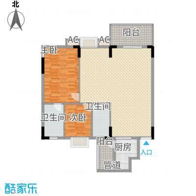 金美花园金泽台120.00㎡金美花园金泽台3室户型3室