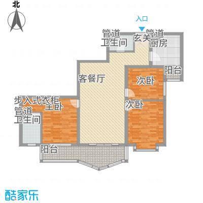 庙前社区(颐园小区)154.36㎡庙前小区户型3室2厅1卫1厨